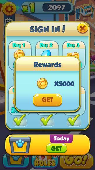 Cat Runner coins cheat