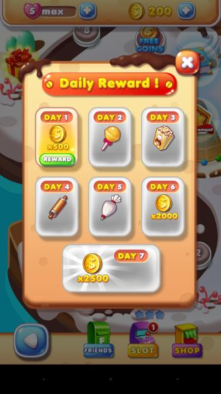 Cookie Mania rewards unlimited