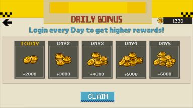 crazy taxi driver american cheat coins