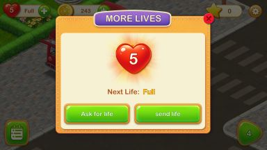 Dream Cafe Game hearts lives cheat