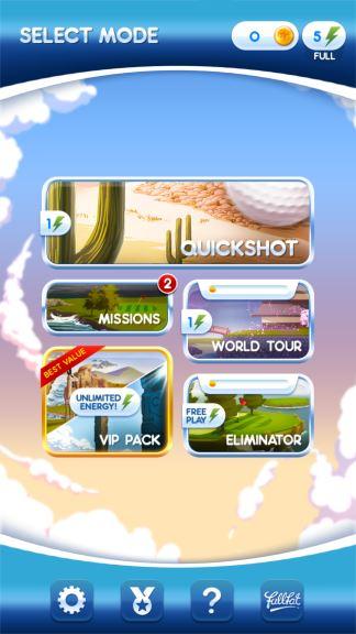 Flick Golf cheat energy