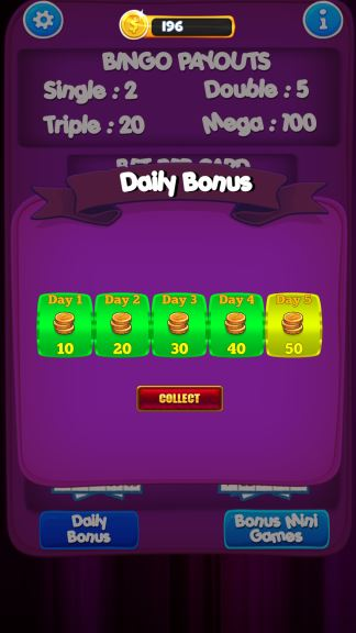 Bingo New Card Game Cheat Coins