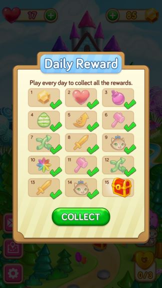 Gummy Gush Daily Reward In Instant Cheat