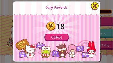 Hello Kitty Cafe Seasons Cheats Coins