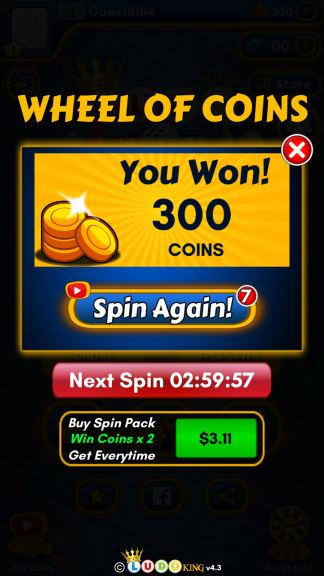 Ludo King Spin Coins