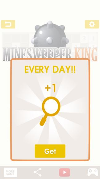 Minesweeper King Game hints cheat