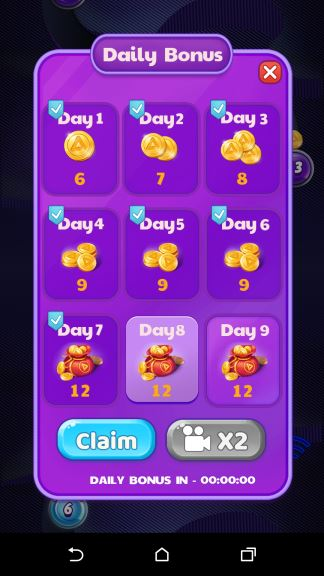 Play Bubble coins cheat