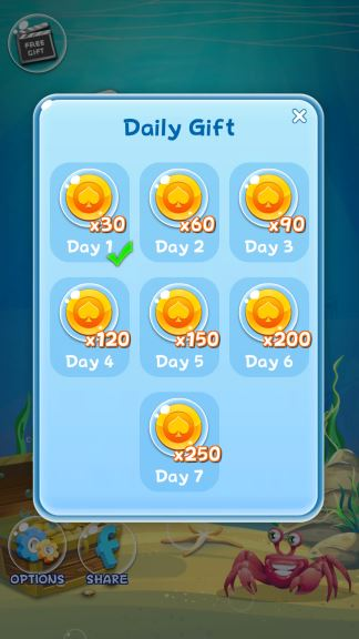 Solitaire Fishing cheats coins