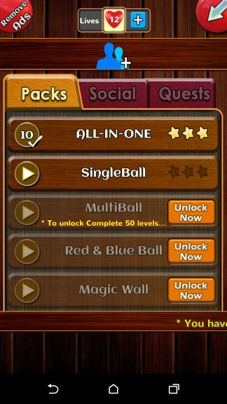 Unblock Ball Game cheat lives