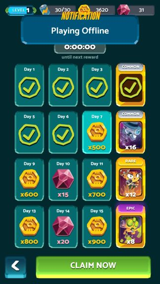 War Pods Game crystals cheat