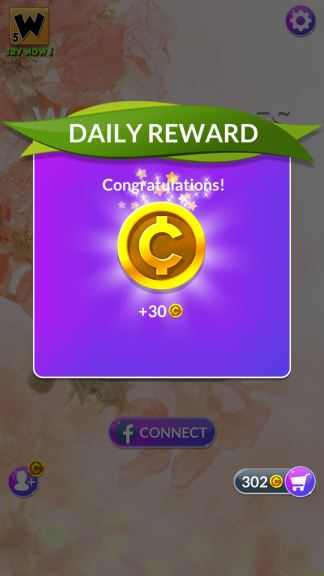 Wordscapes In Bloom coins