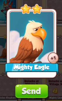 mighty-eagle card coin master