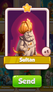 sultan card coin master