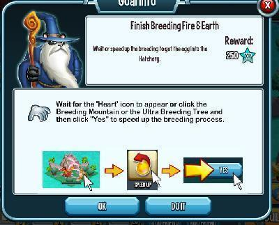 Monster Legends - Finish Breeding Fire And Earth  Mission Guide