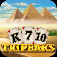 3 pyramid tripeaks solitaire - ancient egypt game gameskip