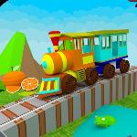 3d learn colors train for kids gameskip