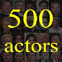 500 actors: guess the actor gameskip