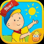 a day with caillou gameskip