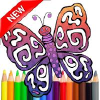 adult coloring butterfly book gameskip
