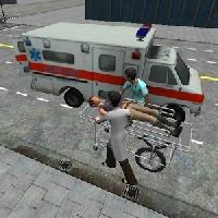 gameskip ambulance parking 3d extended