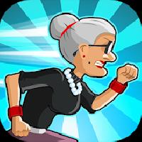 angry gran run: running game gameskip
