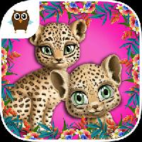 baby jungle animal hair salon gameskip