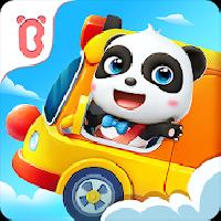 baby panda s school bus - let s drive gameskip