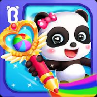 baby panda s magic drawing gameskip