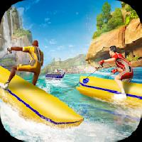 banana boat water speed race gameskip