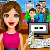 bank cashier register games - bank learning