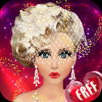 barbie wedding makeup and dress