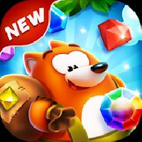 gameskip bling crush - free match 3 puzzle game