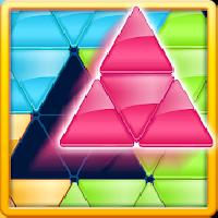 block! triangle puzzle: tangram gameskip