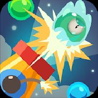 bounce ball blast - boss fighting gameskip