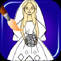 bride coloring pages gameskip