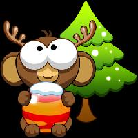 bubble monkey xmas gameskip