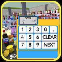 calculator cash register kids gameskip