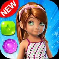 candy girl - cute match 3 gameskip