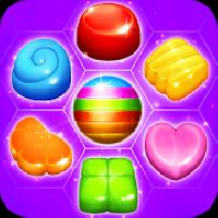 candy hexa - match 3 gameskip
