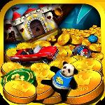carnival gold coin party dozer gameskip