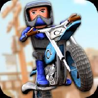 cartoon dirt bike runner gameskip