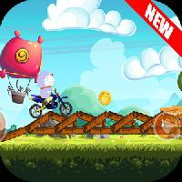 cartoon motocross gameskip