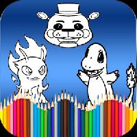 cartoons coloring book gameskip