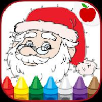 christmas coloring dots games gameskip