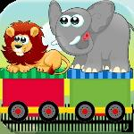 circus train kids match game gameskip