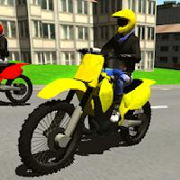 city bike racing 3d gameskip