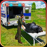 city zoo animals rescue truck gameskip