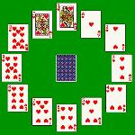 clock solitaire gameskip