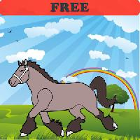 coloring book: horses! free gameskip