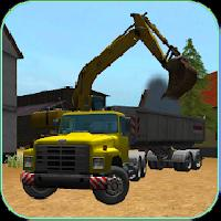construction truck 3d: asphalt gameskip
